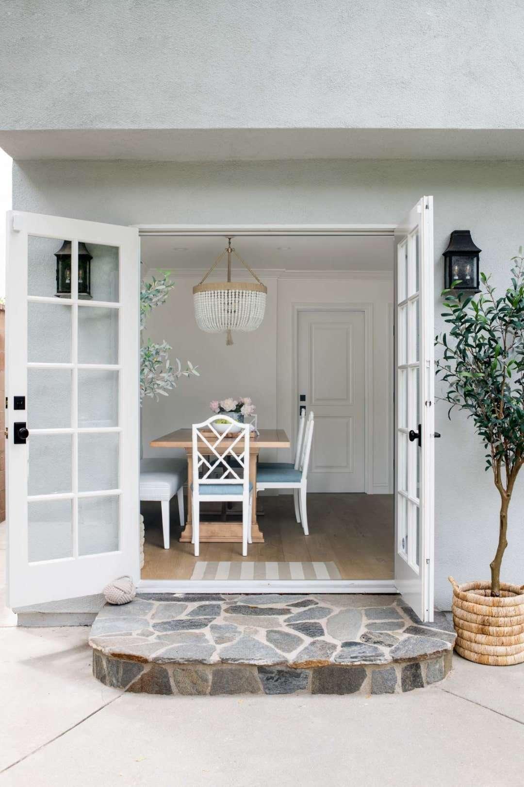 open french doors