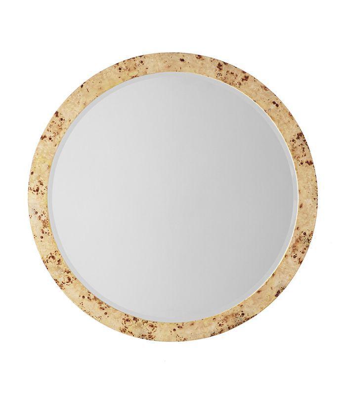 Wisteria Burl Wood Mirror