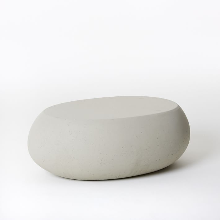 Concrete Pebble Coffee Table