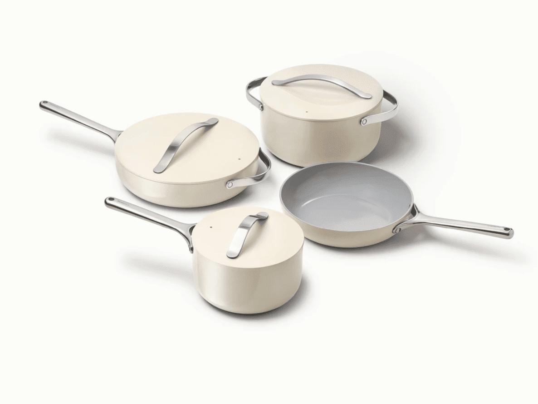 Caraway pots and pans set