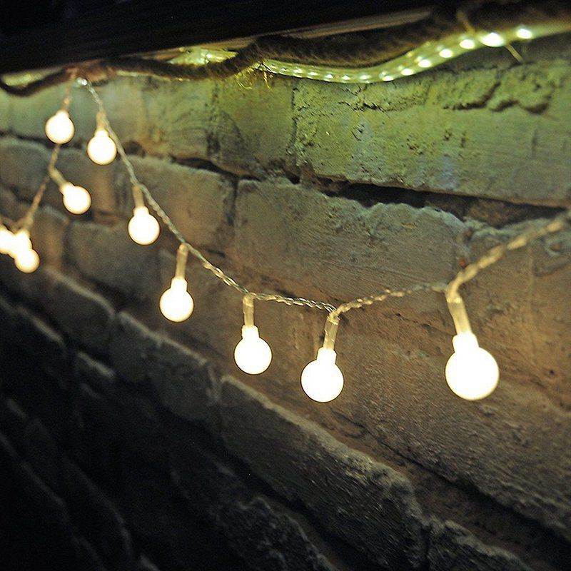 LeadingStar Warm White String Fairy Lights