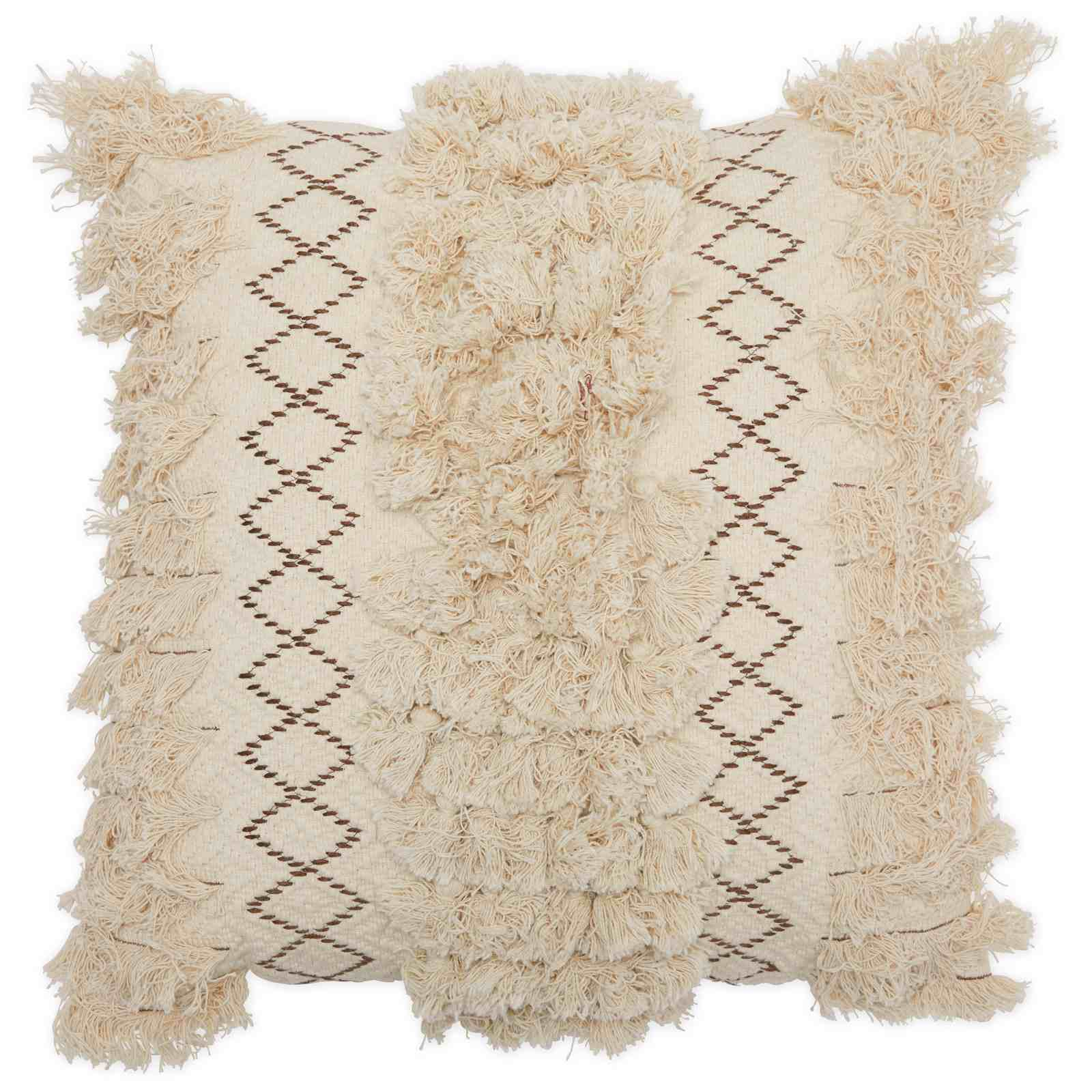 Drew Barrymore Home Macrame Decorative Throw Pillow