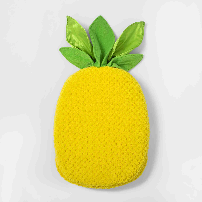 Pineapple Sensory Floor Cushion Yellow