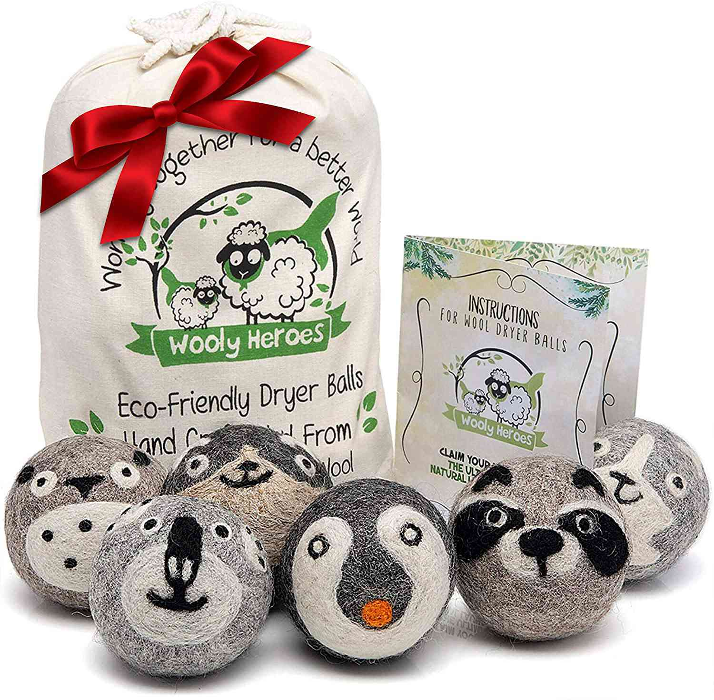 Wooly Heroes Wool Dryer Balls