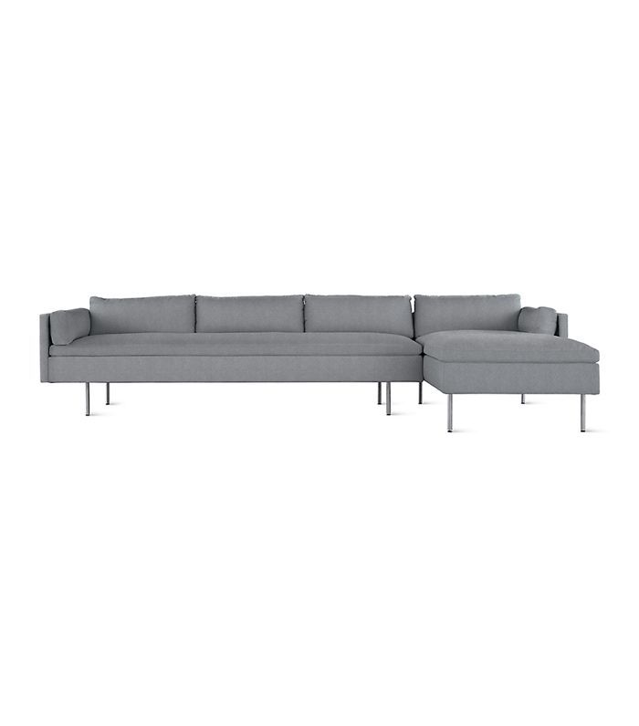BassamFellows for Herman Miller Bolster Sectional Chaise