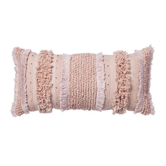 Target Pink Tufted Oversize Lumbar Throw Pillow