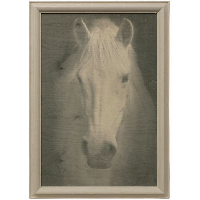 Bee & Willow Home Farmhouse Horse Wood Wall Art