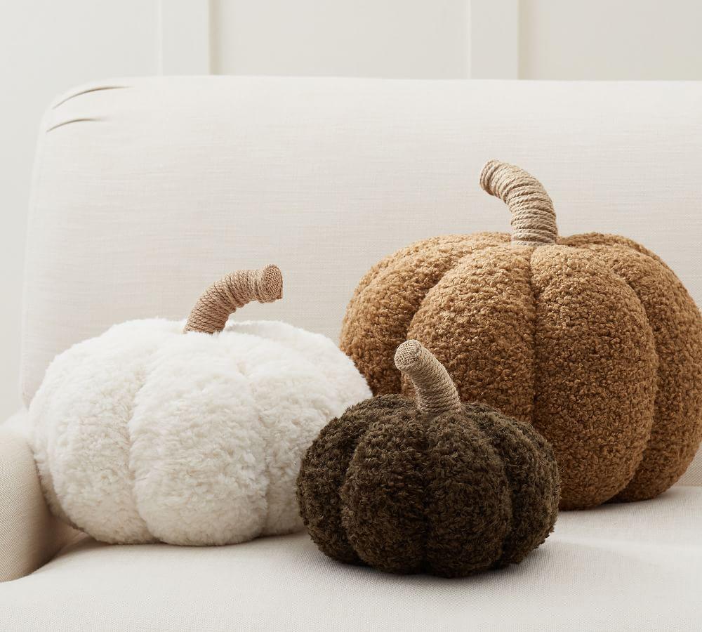 Cozy Pumpkin Pillow