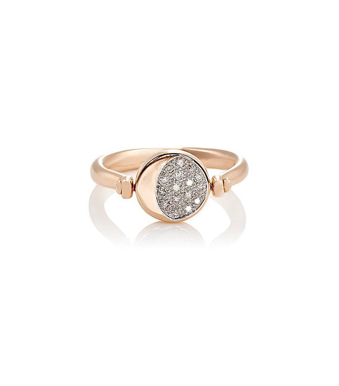 Women's Reversible Moon Phase Ring