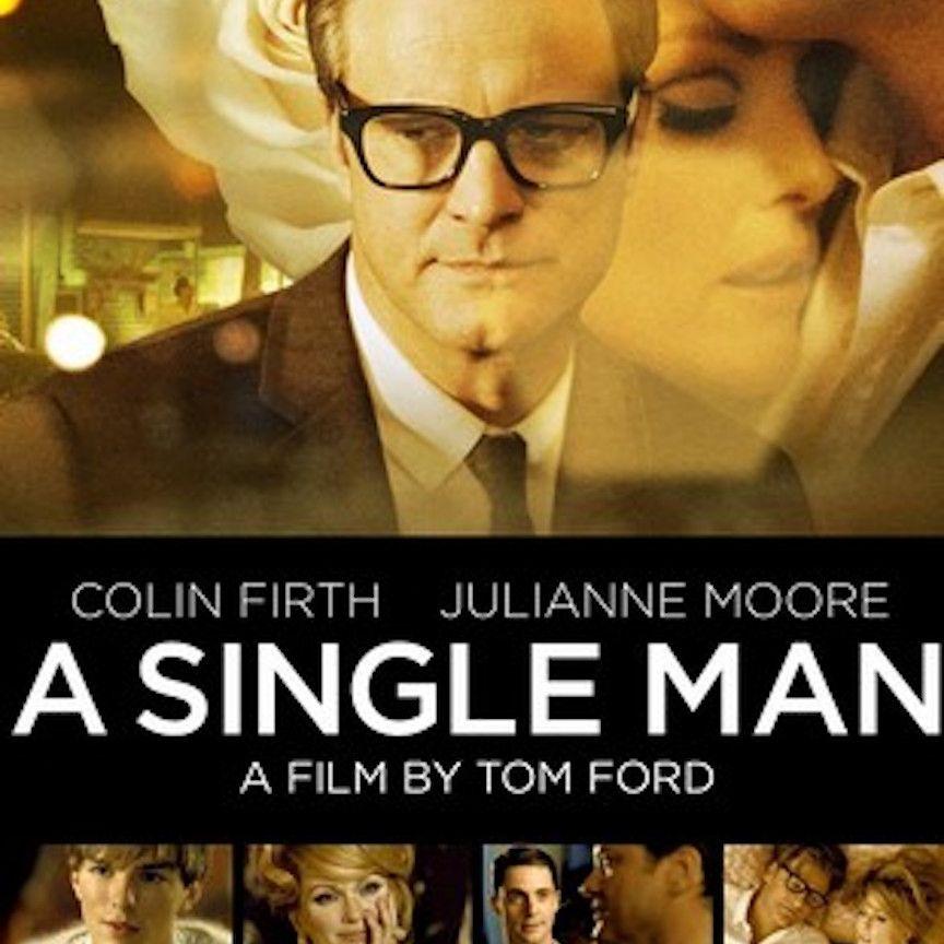 A Single Man (2009) movie poster.