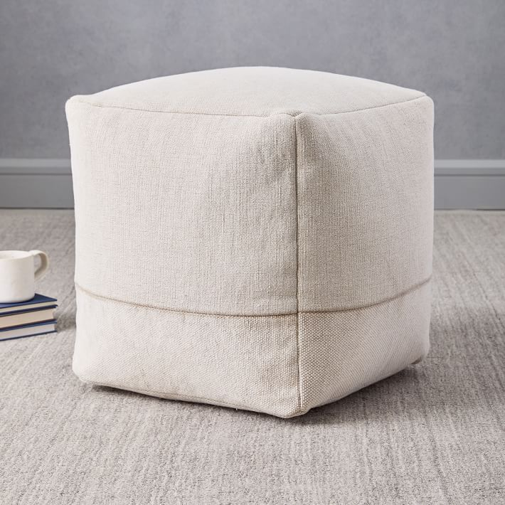 Pouf—Cheap room decor