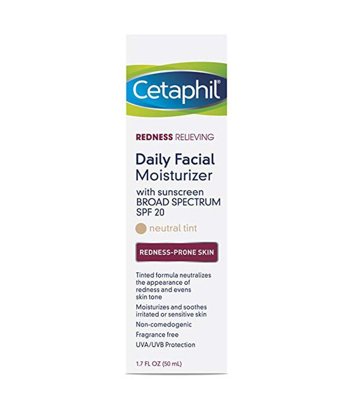 Cetaphil Redness Daily Facial Moisturizer Best skincare products for 40 year olds