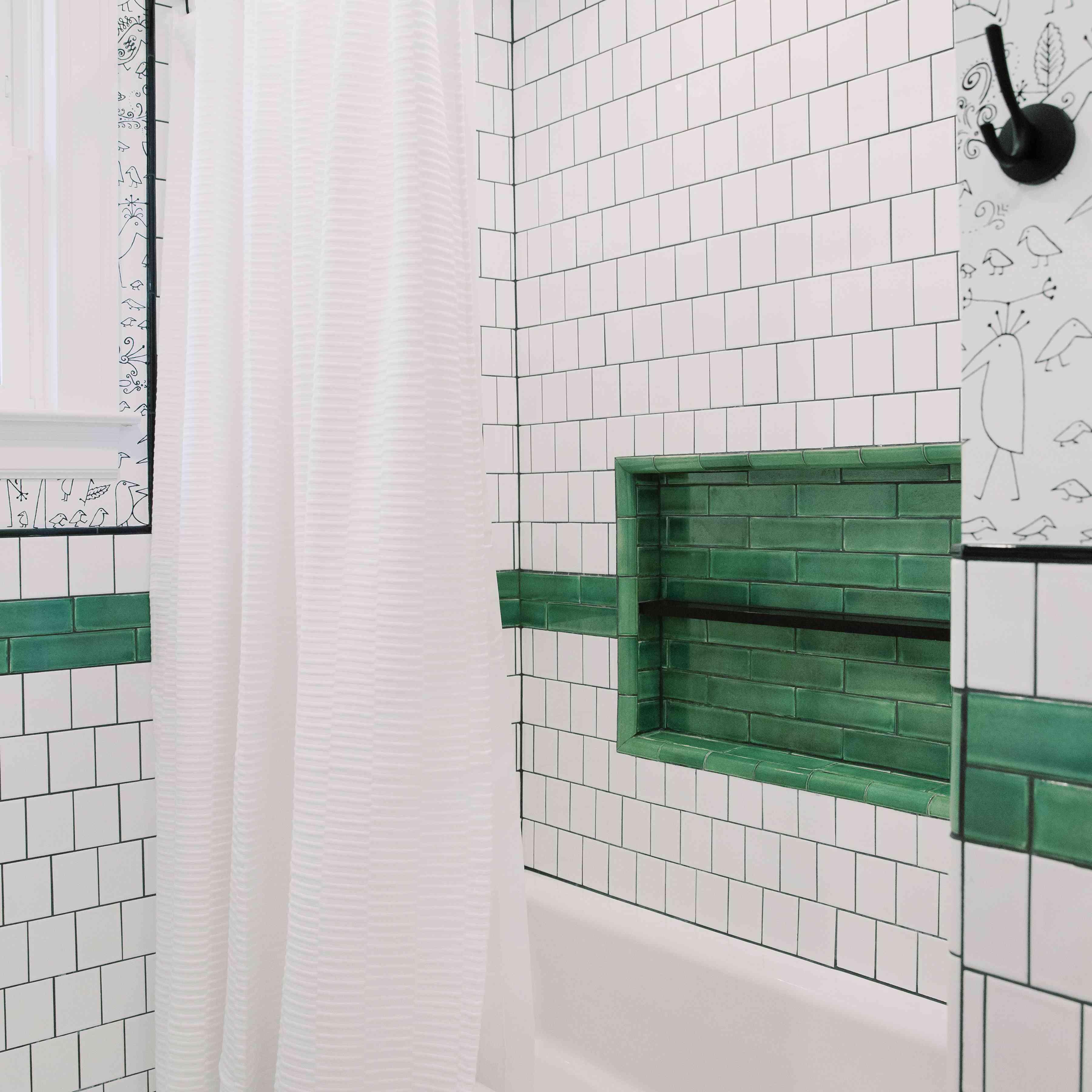 shower curtain texture