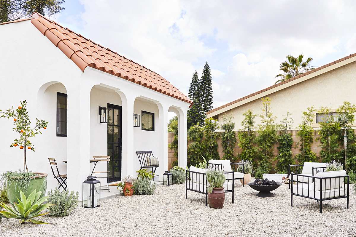 Casa de huéspedes de estilo español