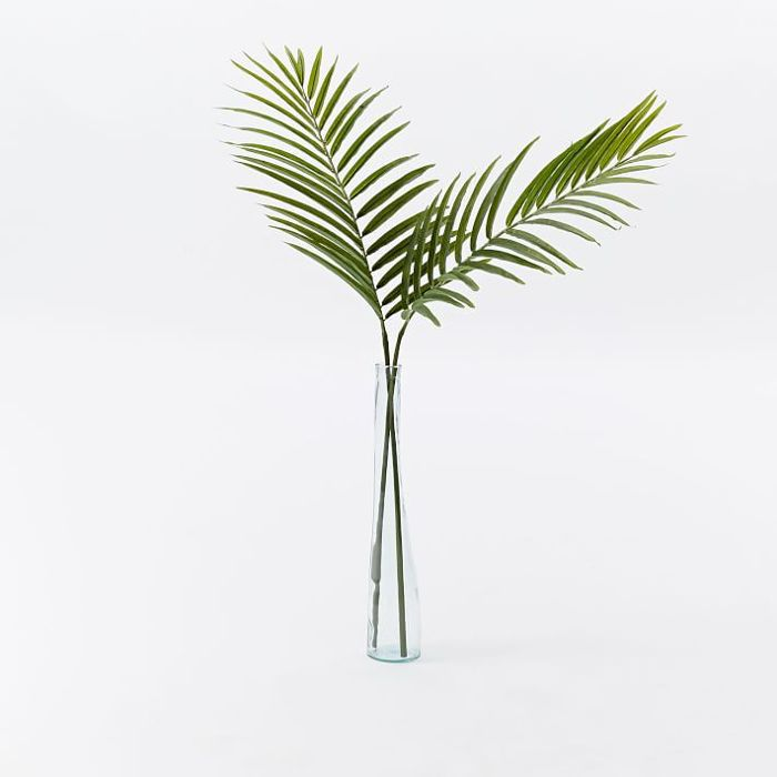 Faux Palm Leaf Branch
