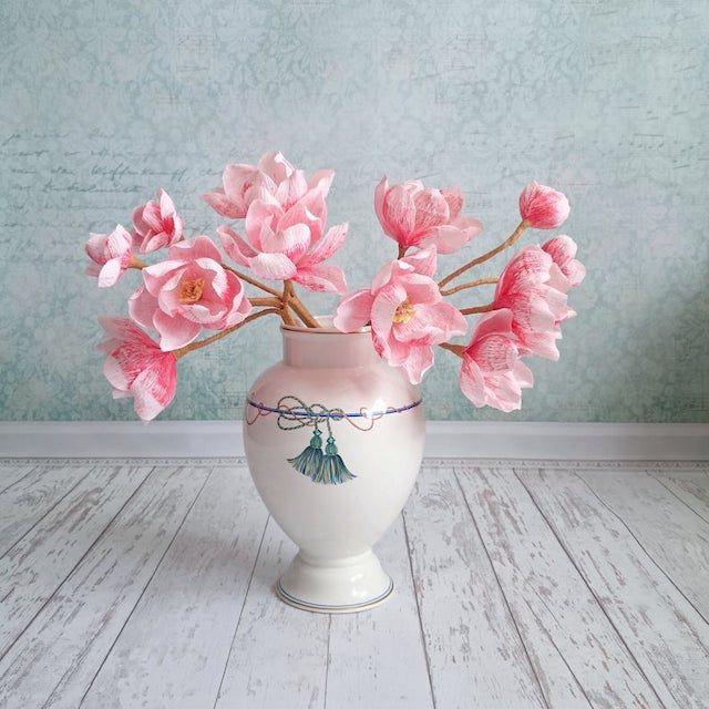 Paper Magnolia Branches