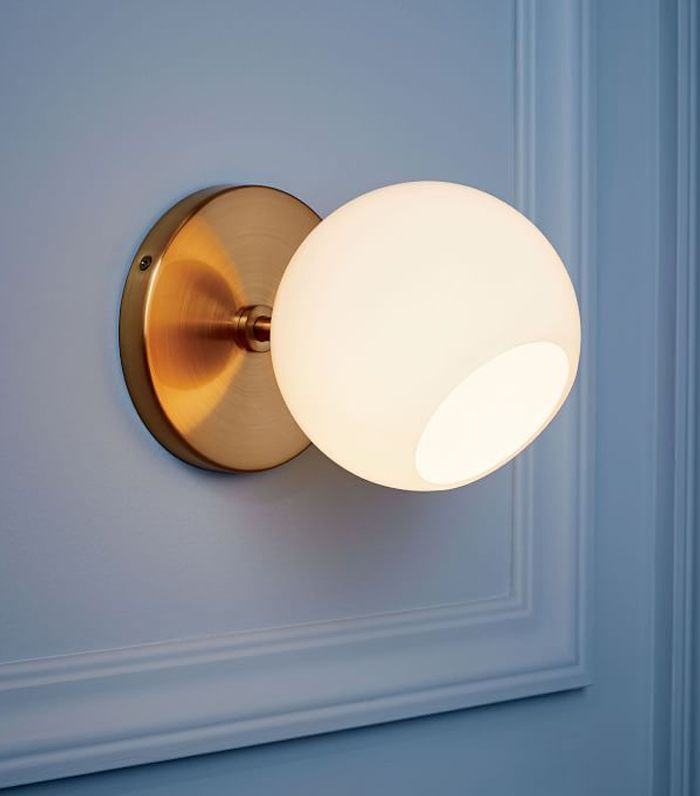 Staggered Glass Short Sconce