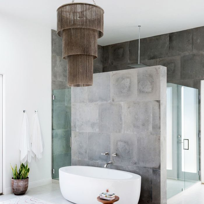 How To Create A Greyscale Bathroom: 16 Blissfully Gorgeous Spa Bathrooms