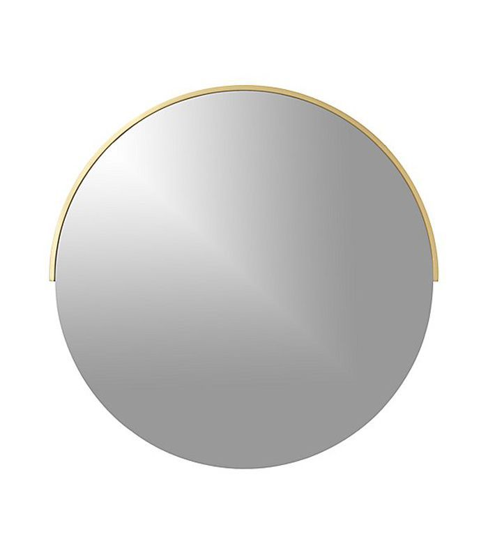 Gerald Small Round Wall Mirror - Crate and Barrel