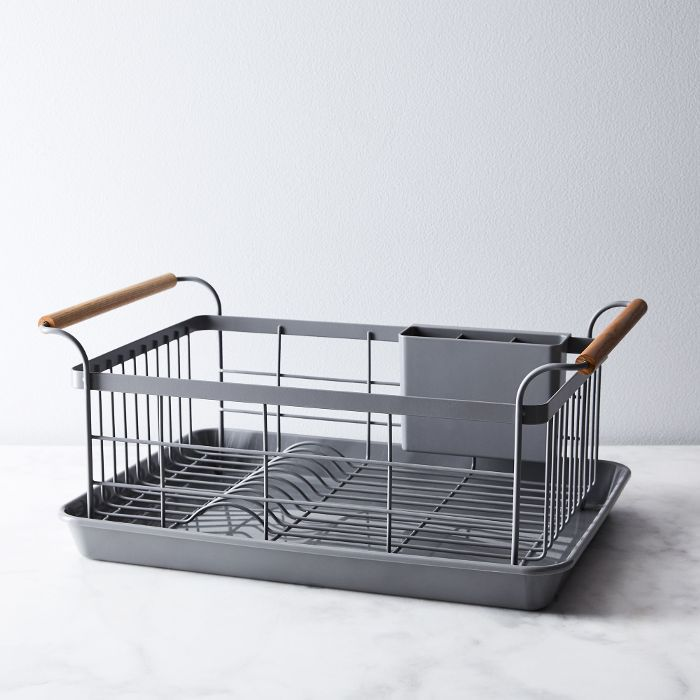 Food52 Wood-Handled Dish Rack