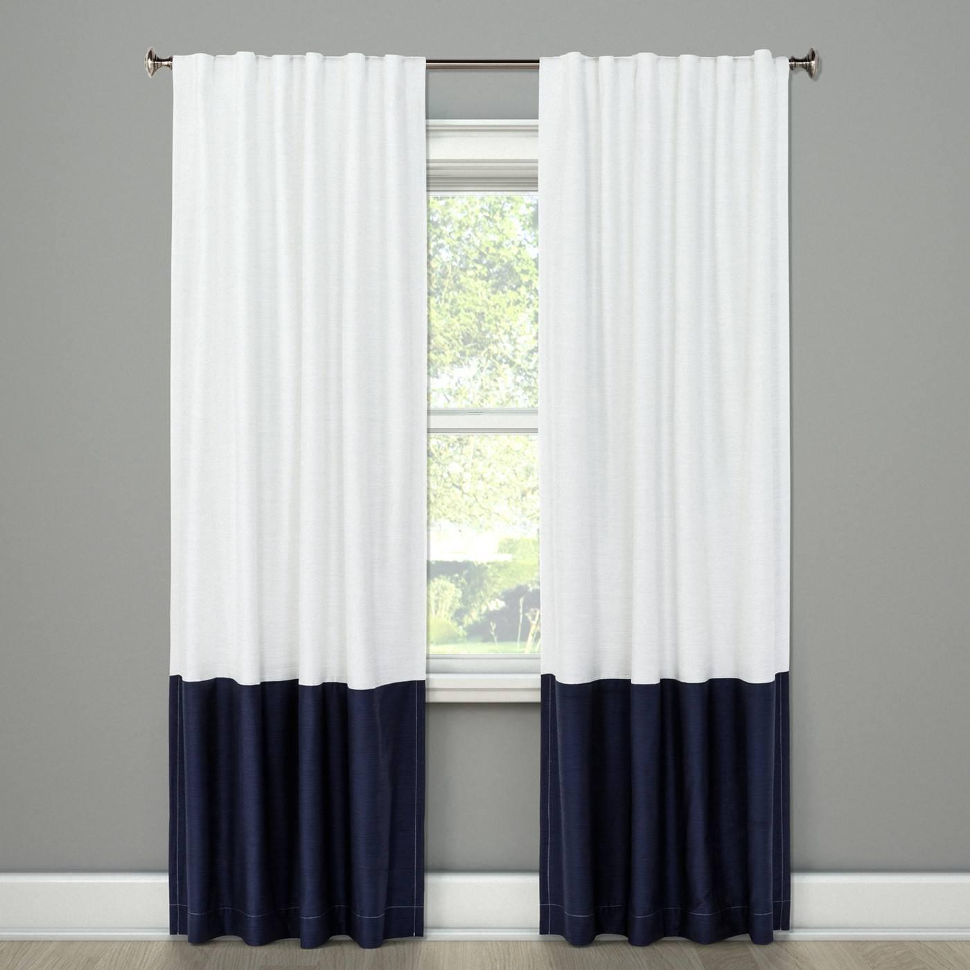 Block Curtain Panels