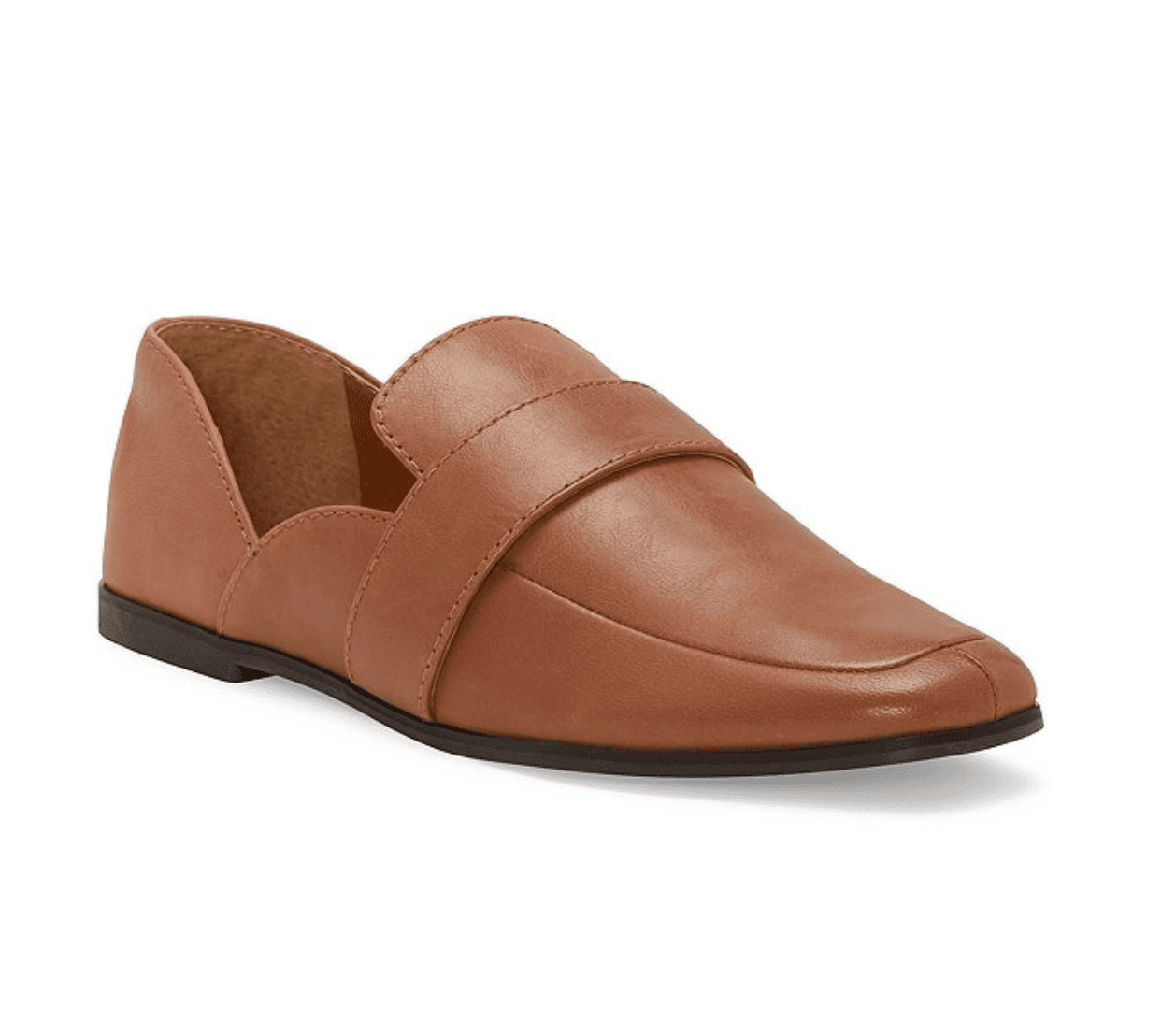 Lucky Brand Adelha Leather Flat Loafers