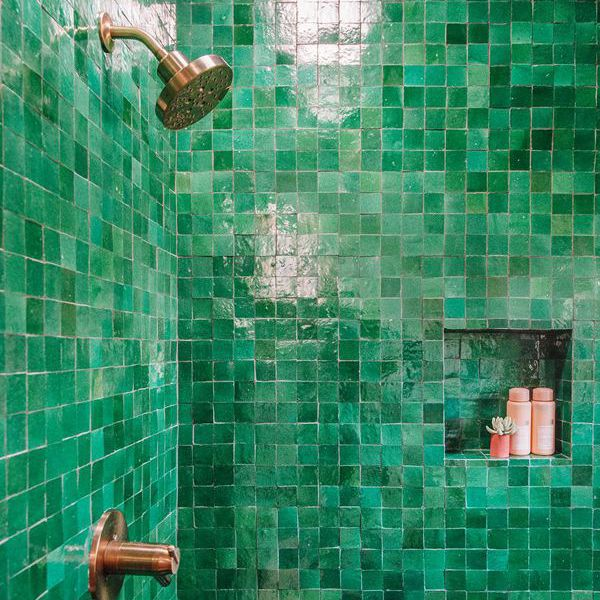 Jeff Mindell—Bathroom Shower Tile Ideas