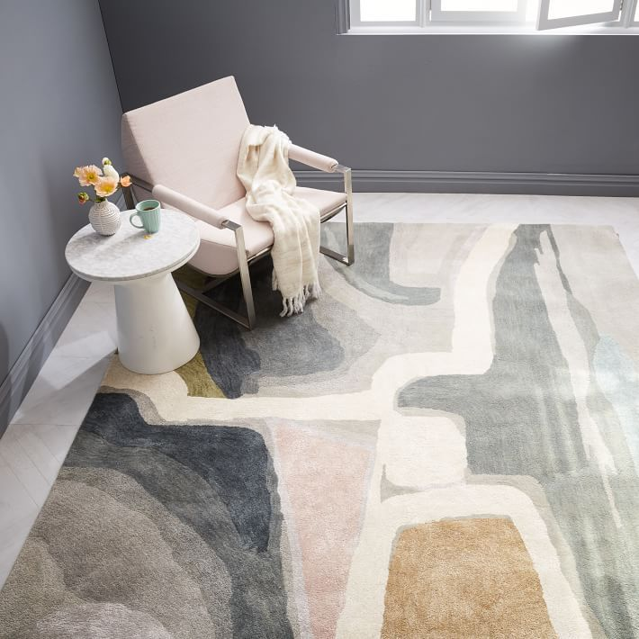 Nightscape rug by West Elm