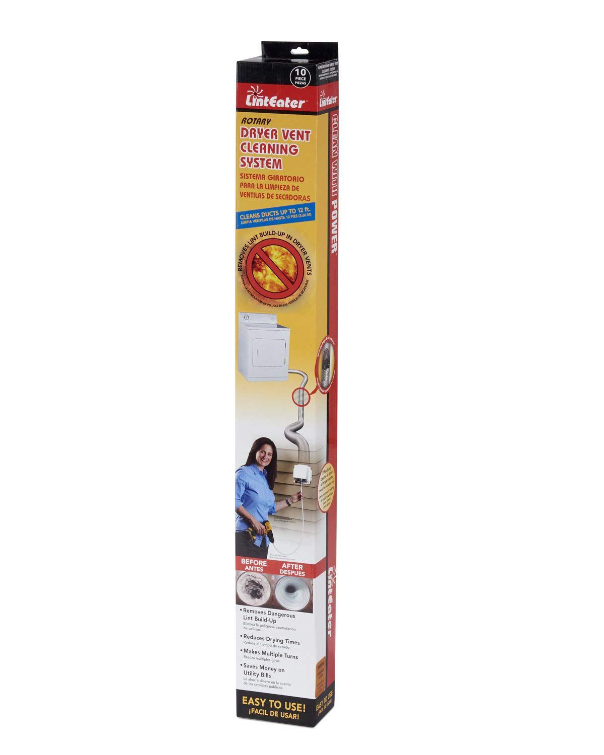 Dryer vent cleaning system