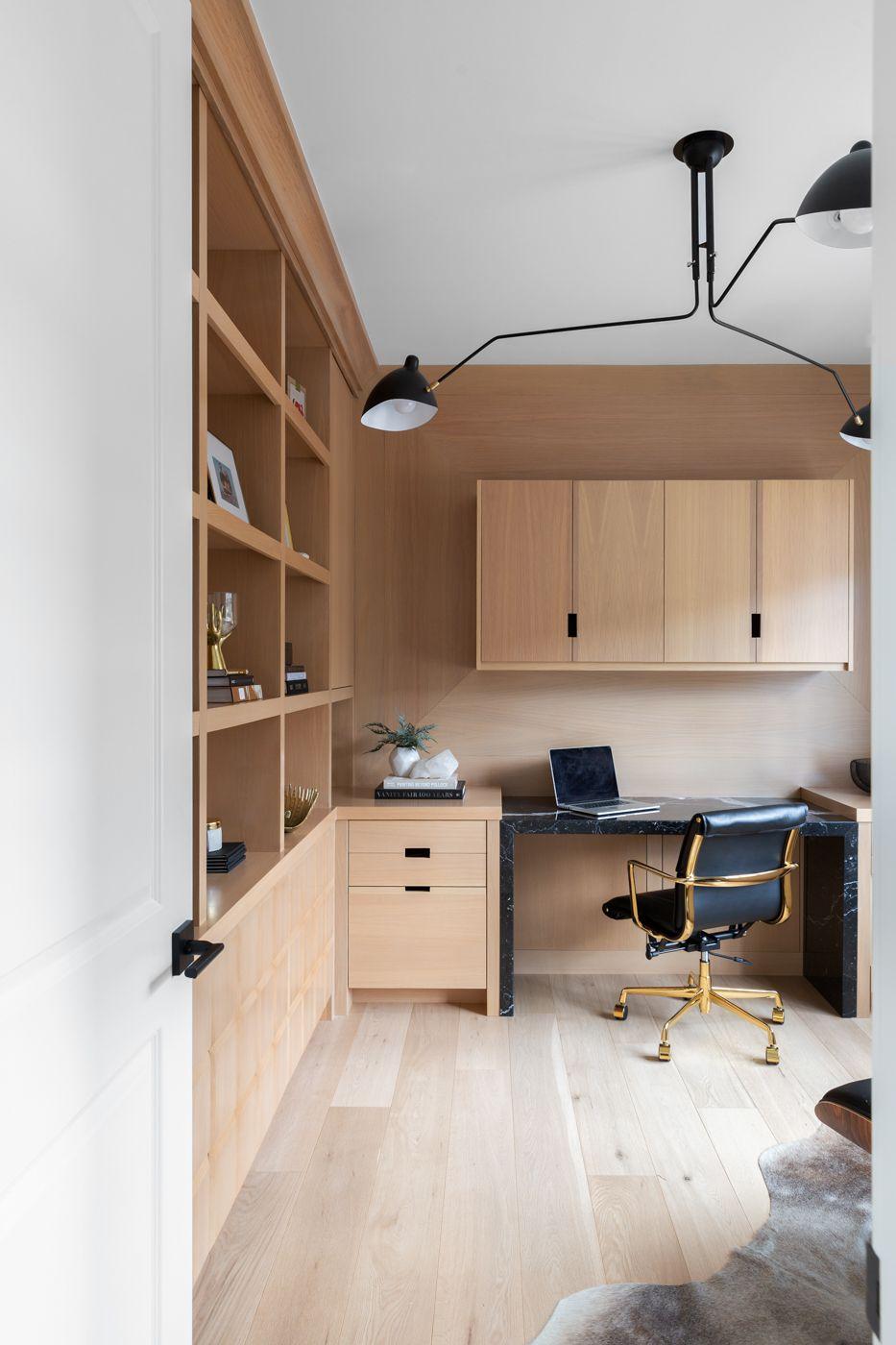 office wood paneling