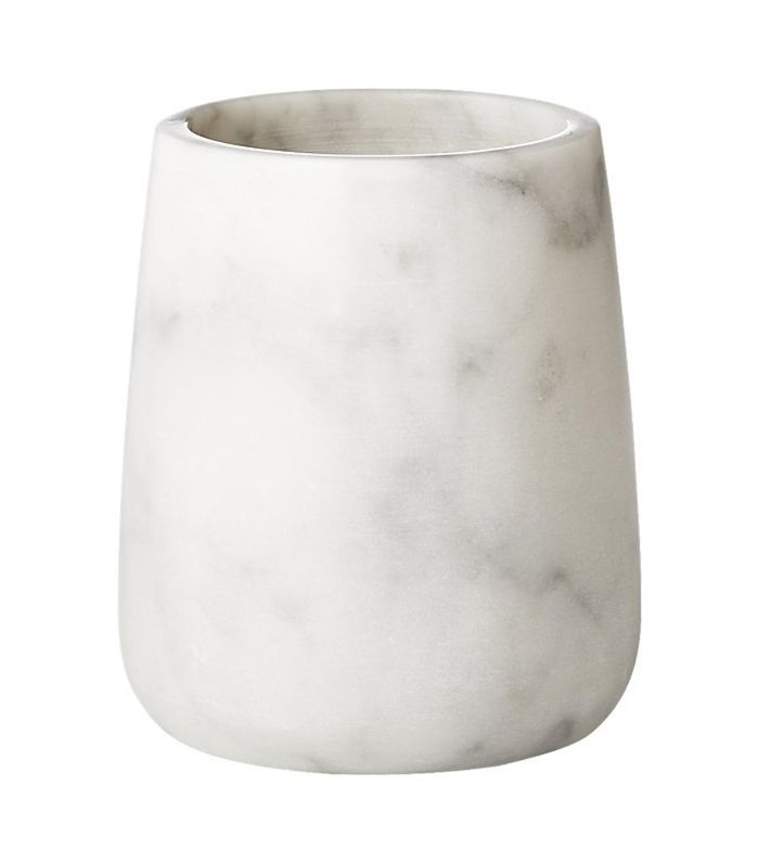 CB2 Marble Pencil Cup