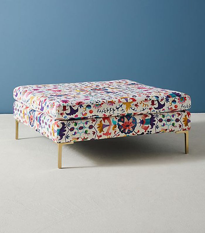 Badia-Printed Edlyn Cocktail Ottoman