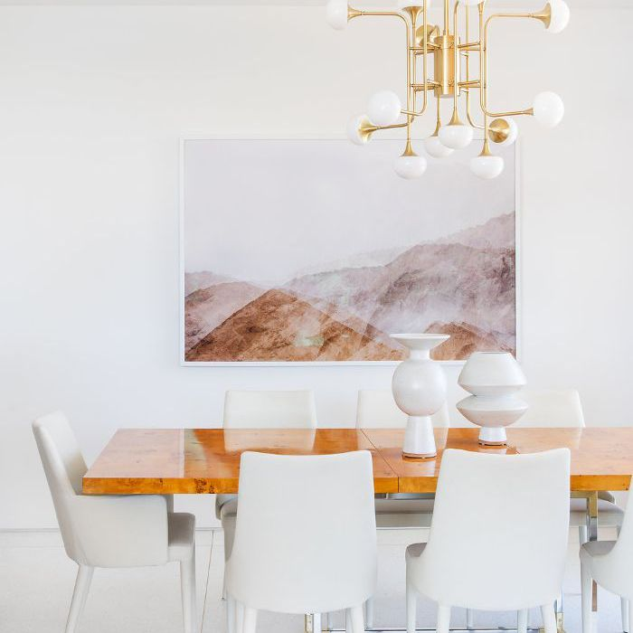 Mandy Moore's dining room