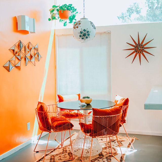 Dunn Edwards - Naranja exuberante