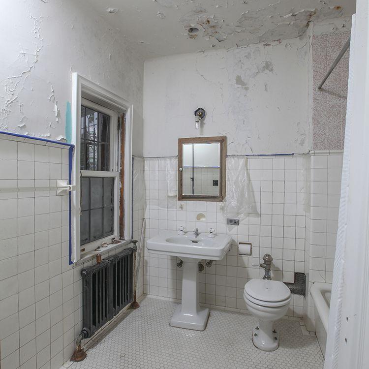 Before shot of bathroom.