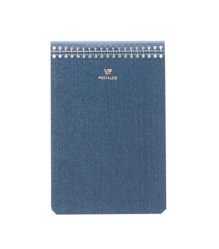 Notebook A6 in Dark Blue