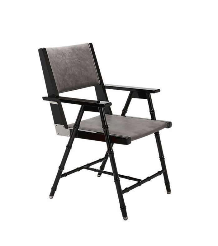 Campaign Black and Grey Chair