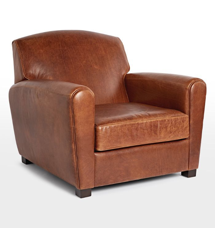 Rejuvenation Doyle Leather Club Chair
