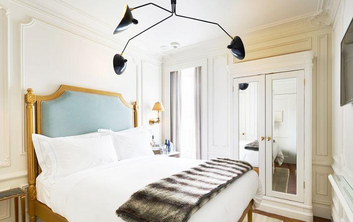 La habitación del hotel Marlton