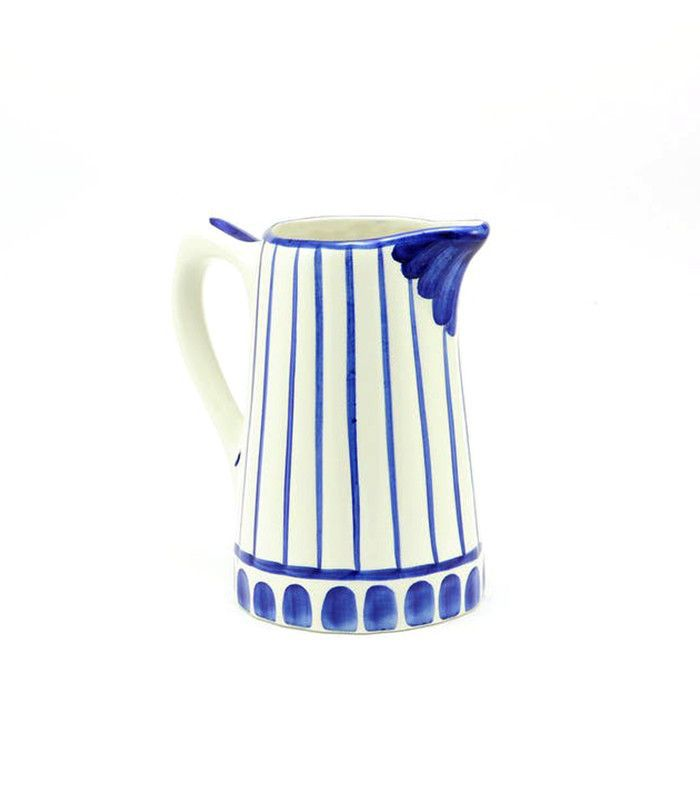 Casa Atlantica Jarra Rayas Azules