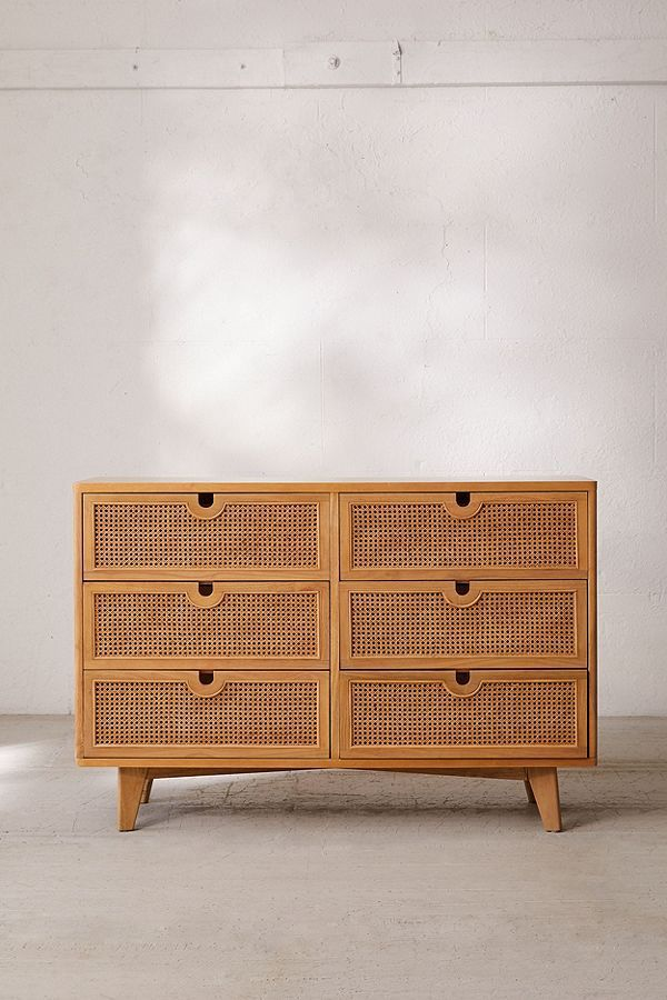 Marte 6-Drawer Dresser