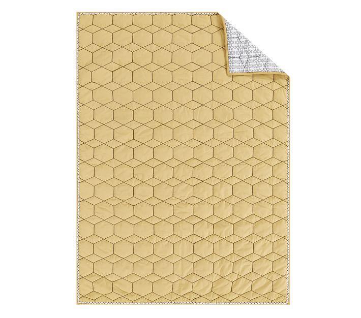 west elm x PBK Honeycomb Toddler Quilt