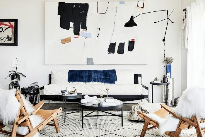 modern living room—Sacha Strebe