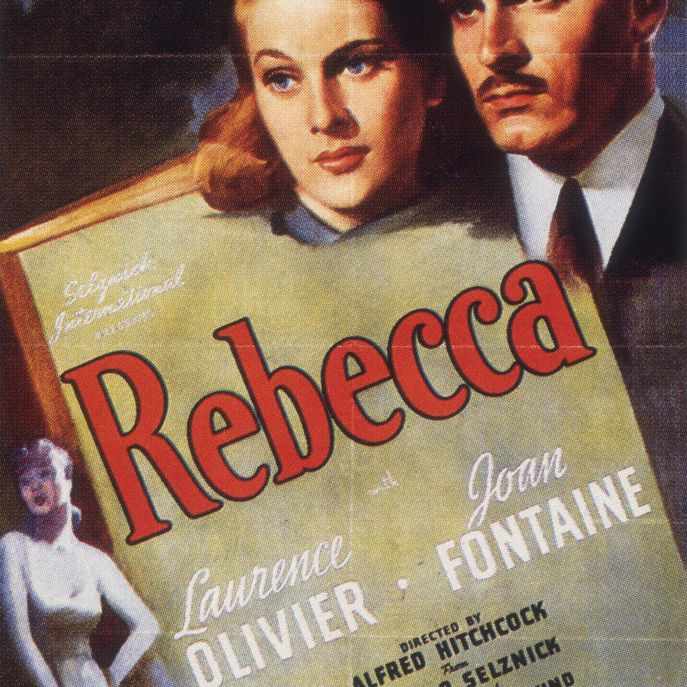 best black and white films - rebecca