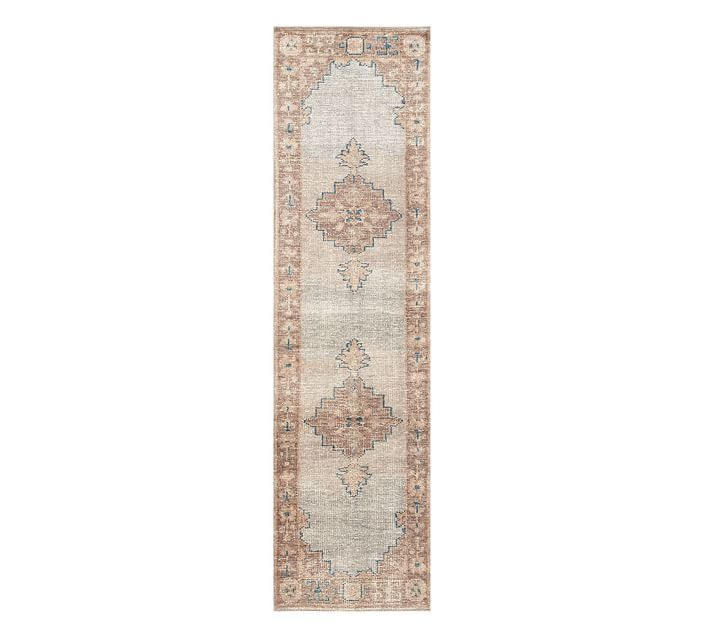 hand-knotted rug