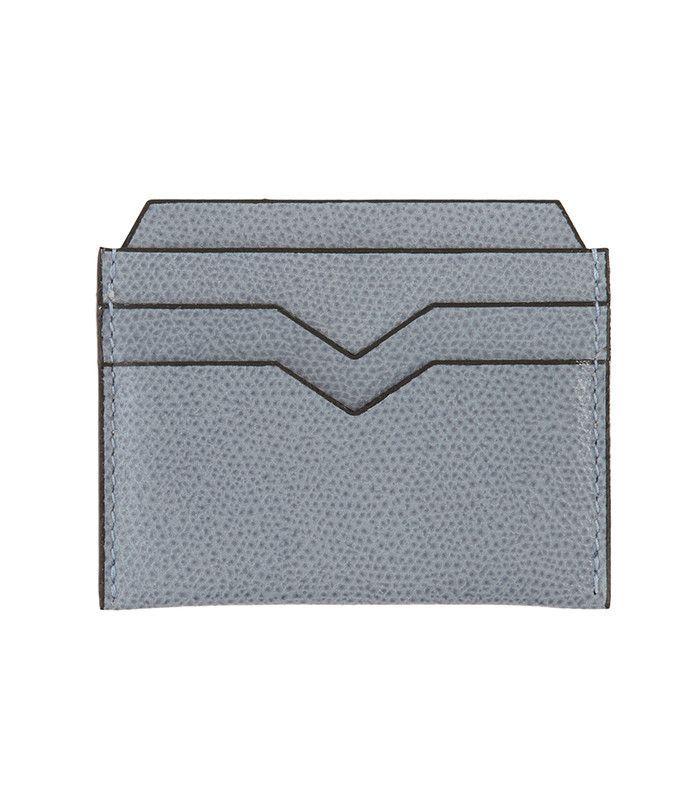 Velextra Grained-Leather Cardholder