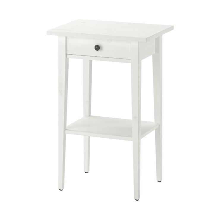 Hemnes Nightstand Bedside Table