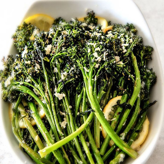 Parmesano Asado Limón Ajo Brócoli