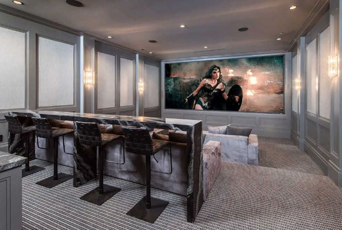 LeBron James's Home Movie Theater