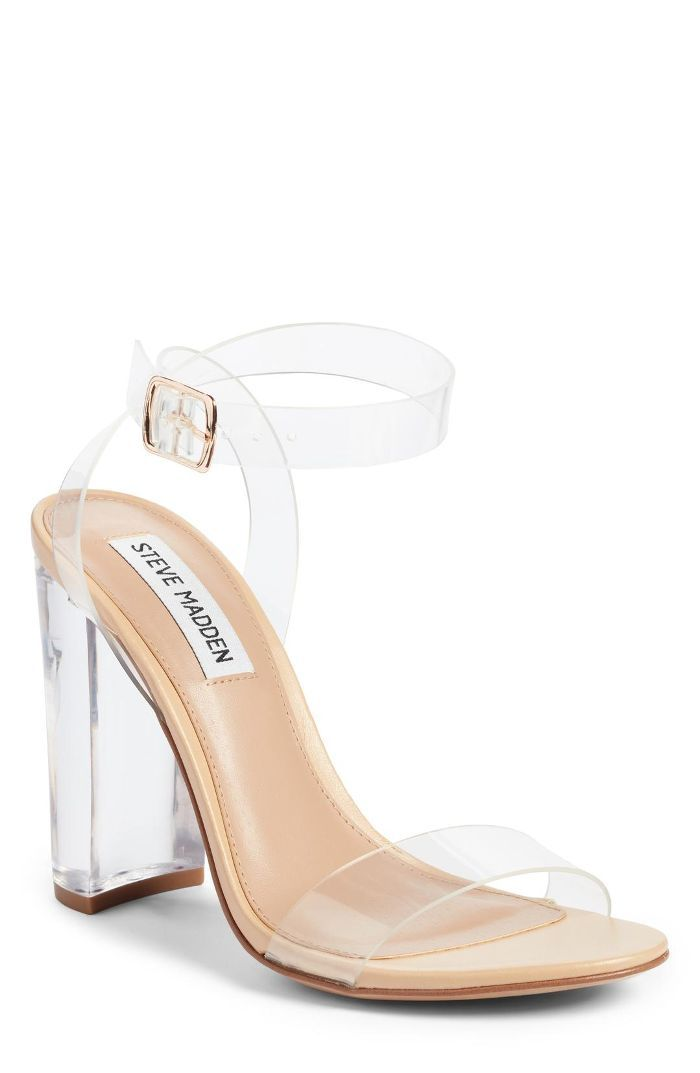 Steve Madden Camille Clear Sandals